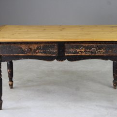 Pine Kitchen Table High Tables Antique Rustic For Sale At Pamono