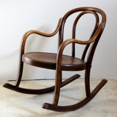 Children Rocking Chairs Accent Target Bentwood S Chair From Fischel 1910s For Sale At Pamono Price Per Piece