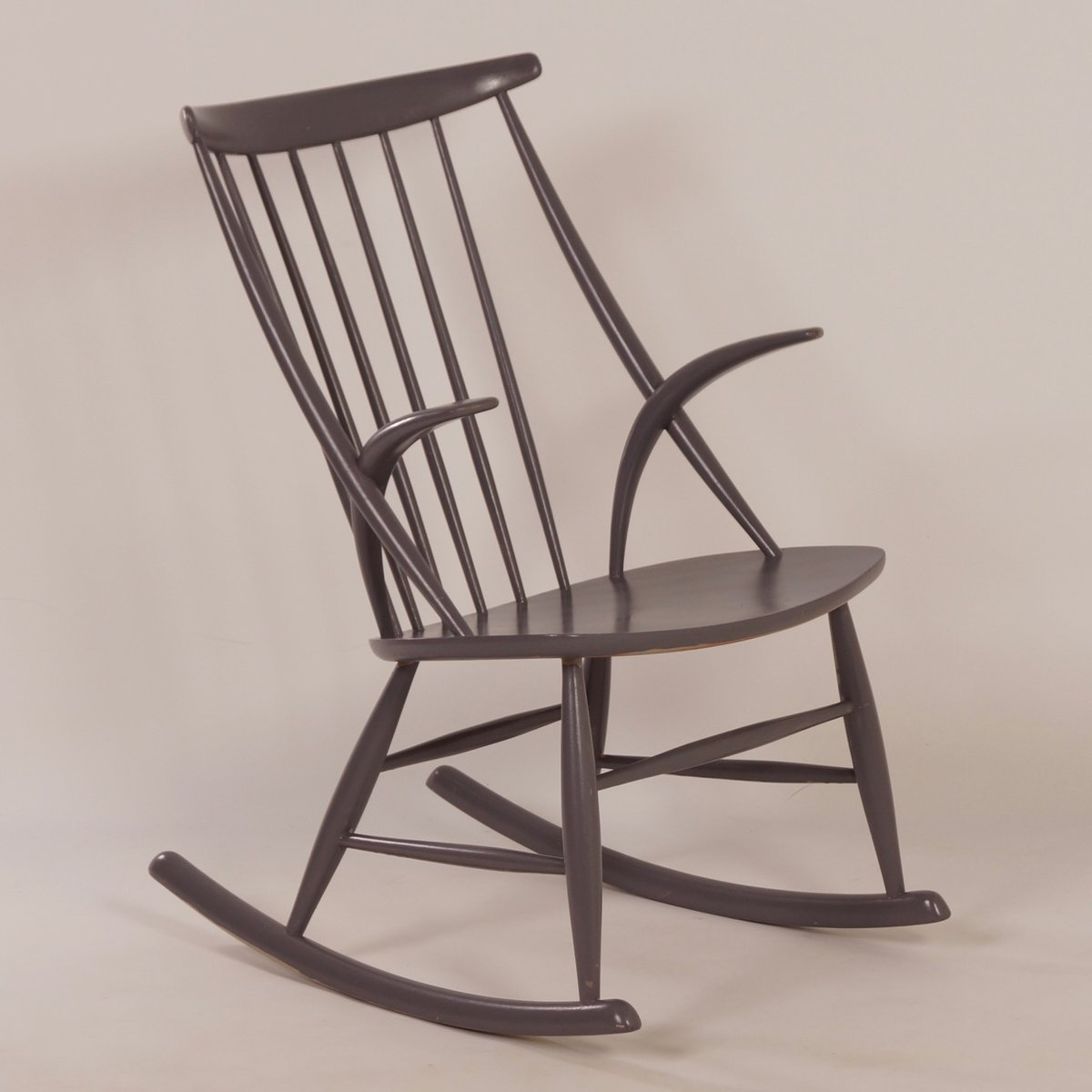 Danish Rocking Chair Danish Iw3 Rocking Chair By Illum Wikkelsø For Niels