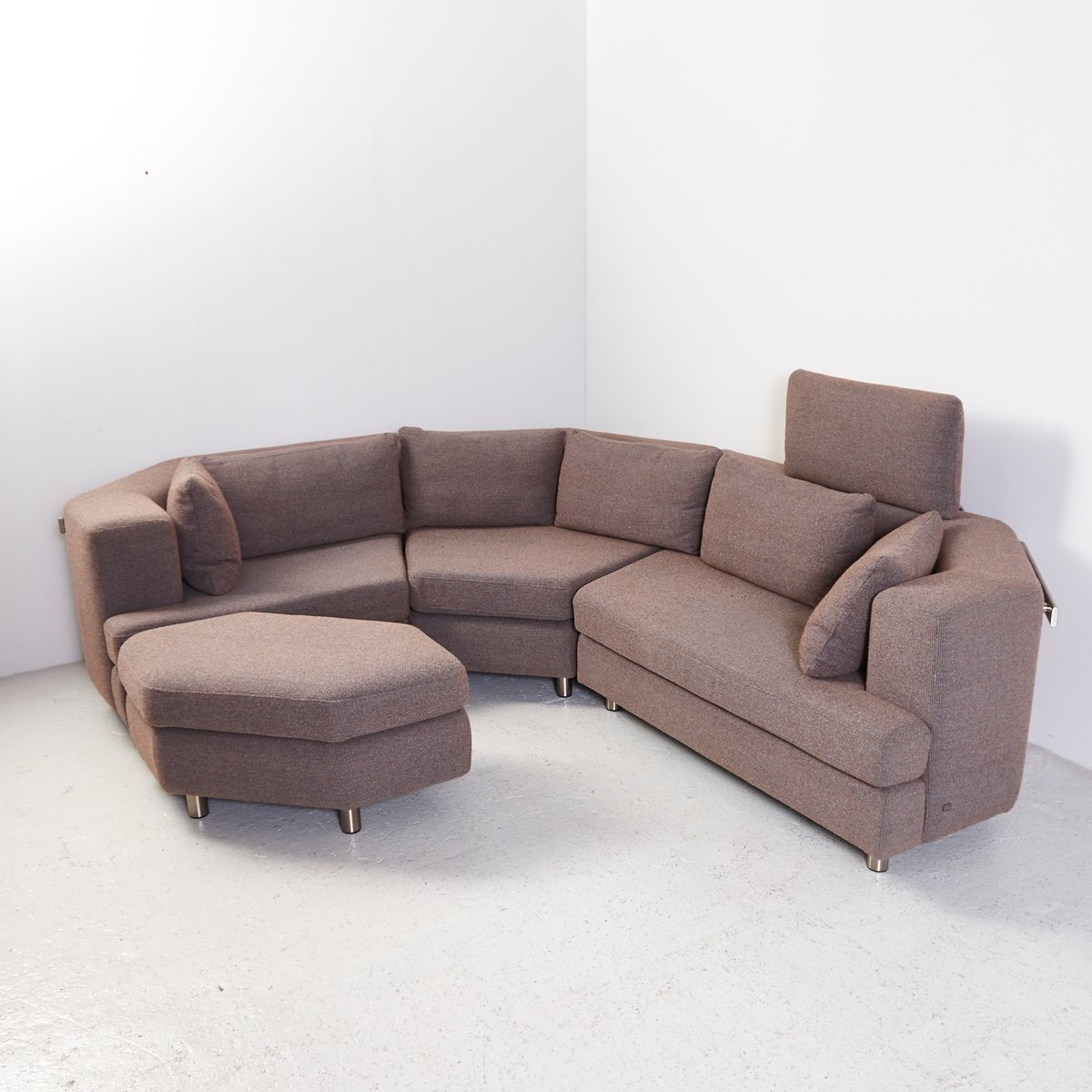 Rolf Benz Modular Sofa 222 Model 200 Leather Modular Sofa From Rolf Benz 1970s For