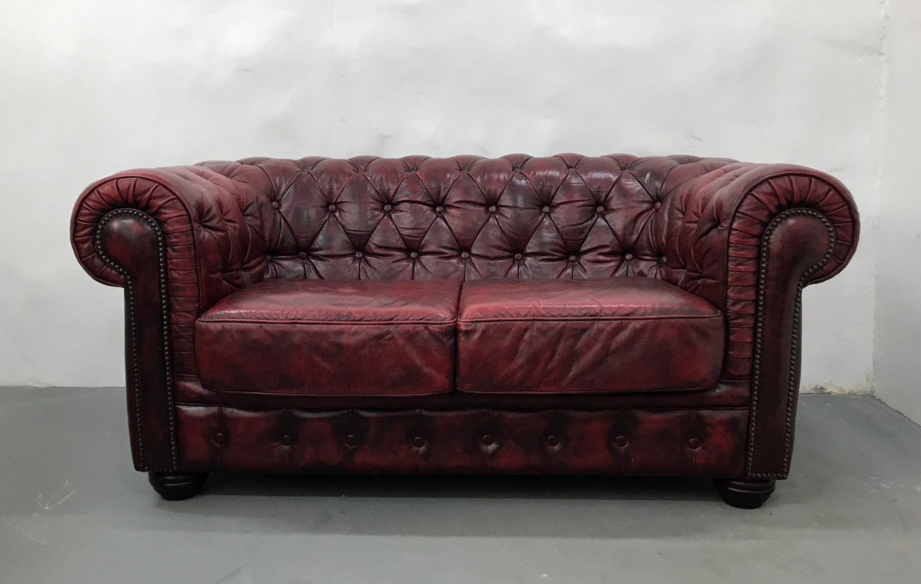 Red Chesterfield Sofa Ebay Red Chesterfield Sofa 2 Seater Baci Living Room