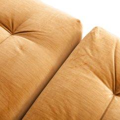 Roche Bobois Mah Jong Modular Sofa Preis York West Elm Modulares Vintage Mit Goldenem Samtbezug Von