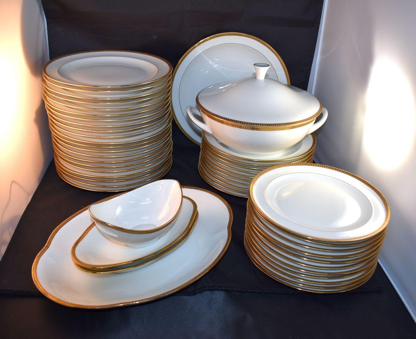 Vaisselle En Porcelaine   Service à Cafe En Porcelaine Fine ... 6093d12072d9