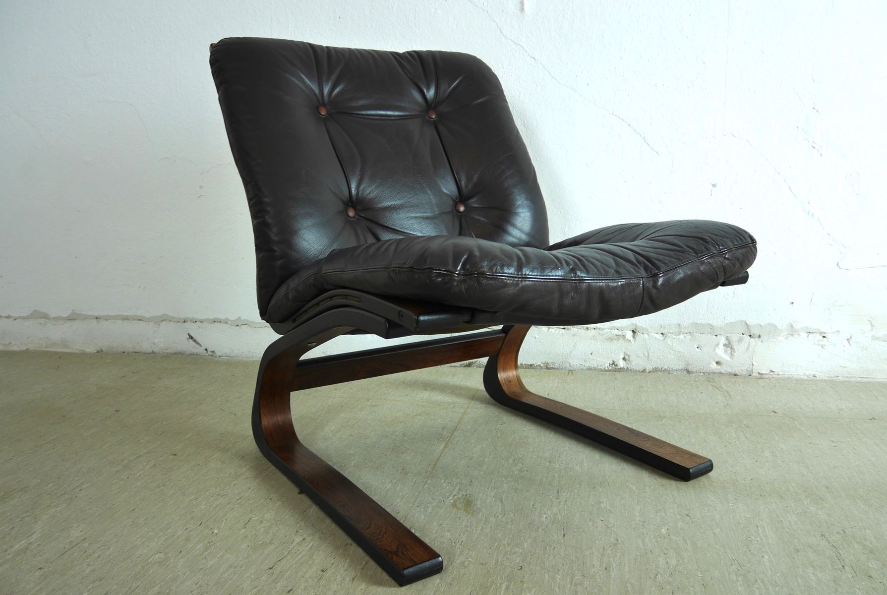 Elsa Chair Vintage Rosewood Kengu Chair By Elsa And Nordahl Solheim For