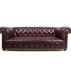 Leather Chesterfield Sofa For Sale West Elm York Dimensions Vintage 1960s At Pamono