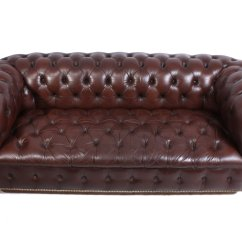 Leather Chesterfield Sofa For Sale Deep Seated Sofas Vintage 1960s At Pamono