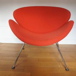Orange Slice Chair Phil And Teds High Lobster Vintage By Pierre Paulin For Artifort 1980s