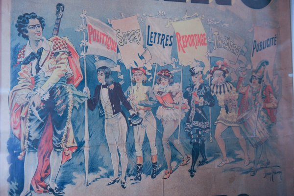 Antique Le Figaro Poster Harry Finney