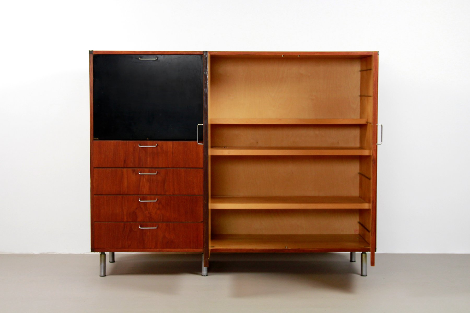 Dutch Modernist Made to Measure Cabinet by Cees Braakman