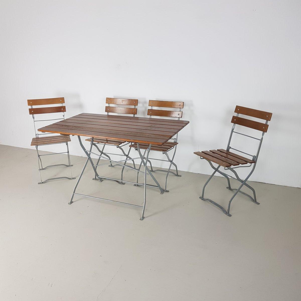 Table De Jardin Vintage | Meubles De Jardin Maison Artur Stiles