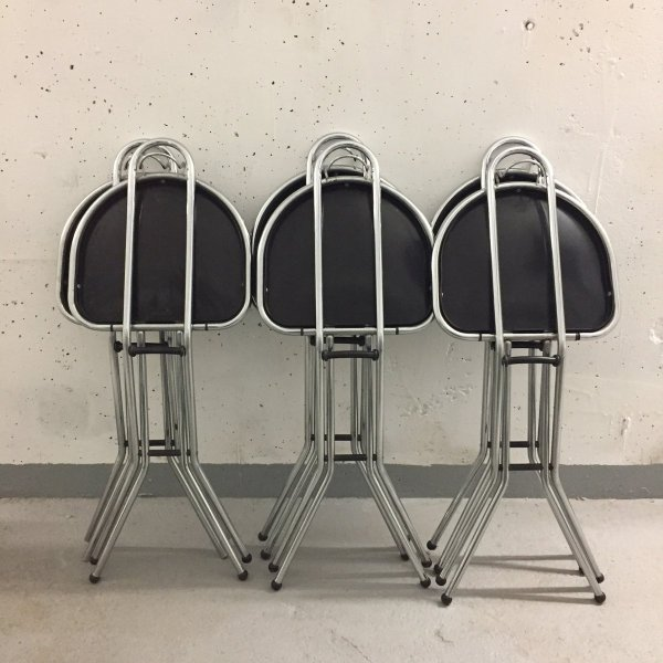 Folding Chairs Niels Gammelgaard Ikea 1980s Set