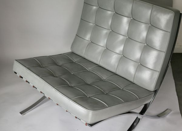 Barcelona Liege Chair Reupholstery Mies Van Der Rohe Year Of Clean