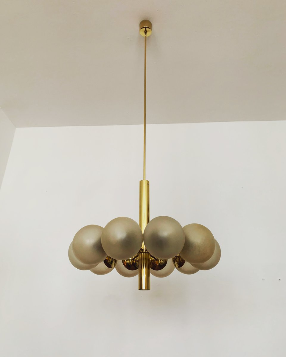 Leuchten Bilder Golden Sputnik Chandelier From Kaiser Idell / Kaiser Leuchten, 1960s For Sale At Pamono