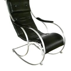 Wrought Iron Rocking Chair Office Chairs In Zim By Peter Cooper For R W Winfield Co 1850