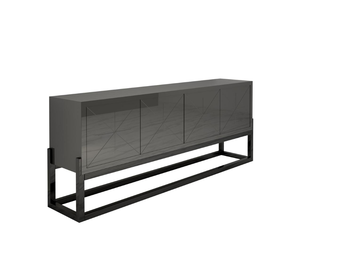 Sideboard Modern Modern High Gloss Sideboard For Sale At Pamono