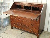 Antique Wood Secretary Desk for sale at Pamono