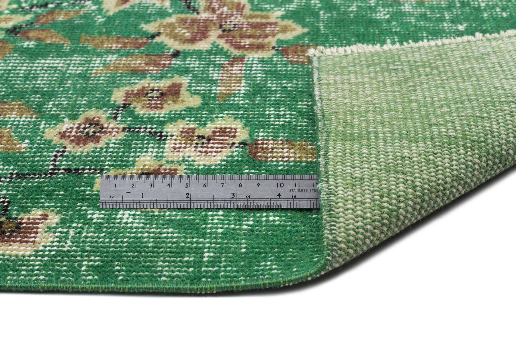 68e4207cb32fac Tappeto Vintage Verde | Tappeti Vintage Stunning Tappeto Nepal Ext ...