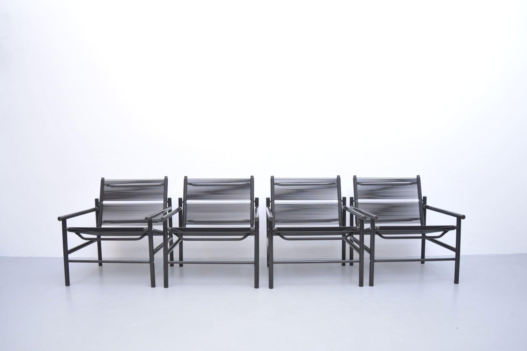 fauteuil fly line vintage par giandomenico belotti pour cmp pandova