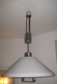 Counterweight Pendant Lamp, 1960s for sale at Pamono