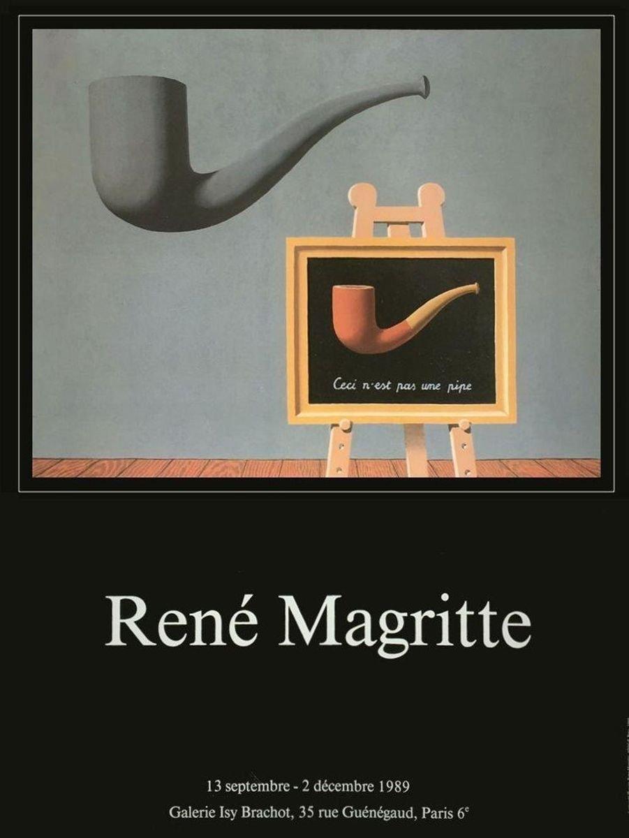 Ceci N Est Pas Une Pipe : N'est, Magritte, Pamono