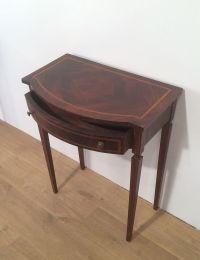 Konsolentische mit Schubladen aus Holz, 2er Set bei Pamono ...