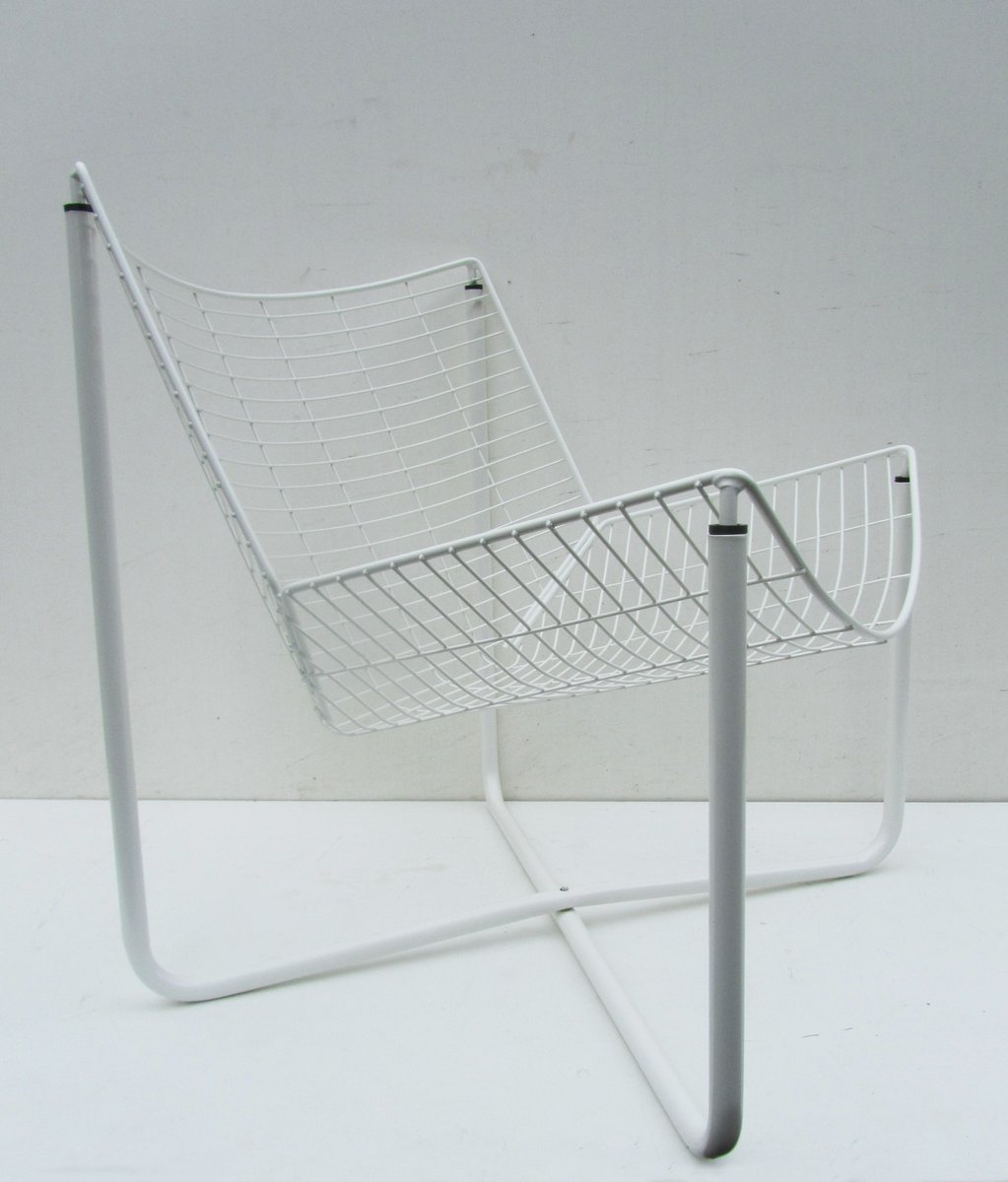 ikea metal chairs high chair that attaches to the table white jarpen wire by niels gammelgaard for 1983 sale price per piece