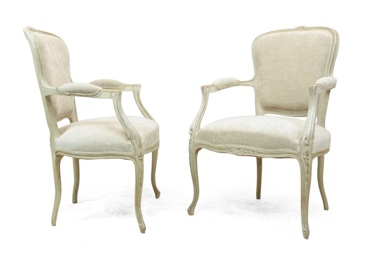 set of chairs huge camping chair antique louis xv style 1900s 2 for sale at
