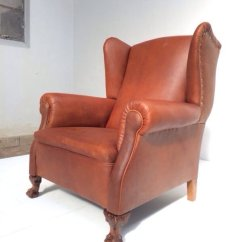 Leather Wingback Chairs Chicco Portable High Chair Neo Gothic 1930s For Sale At Pamono Price Per Piece