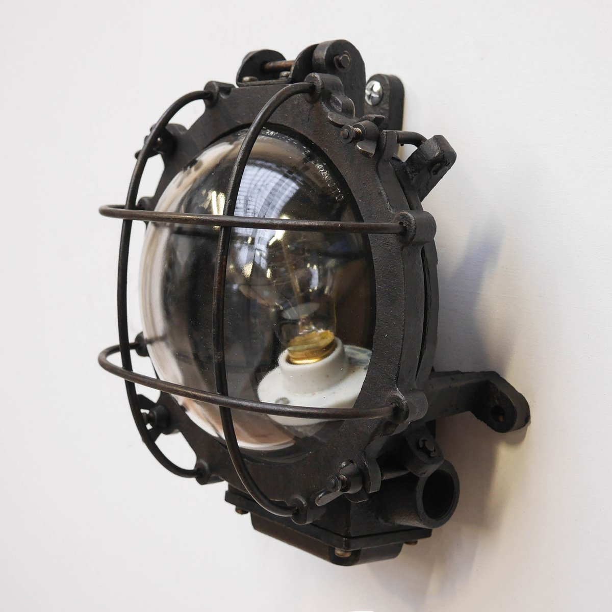 Appliques Vintage Industrielles Pour Salle De Bain - Décoration de ...