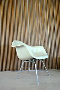 Vintage Fiberglass Dax Chair by Charles & Ray Eames for ...