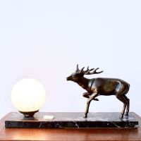 Deer Table Lamp, 1920s for sale at Pamono