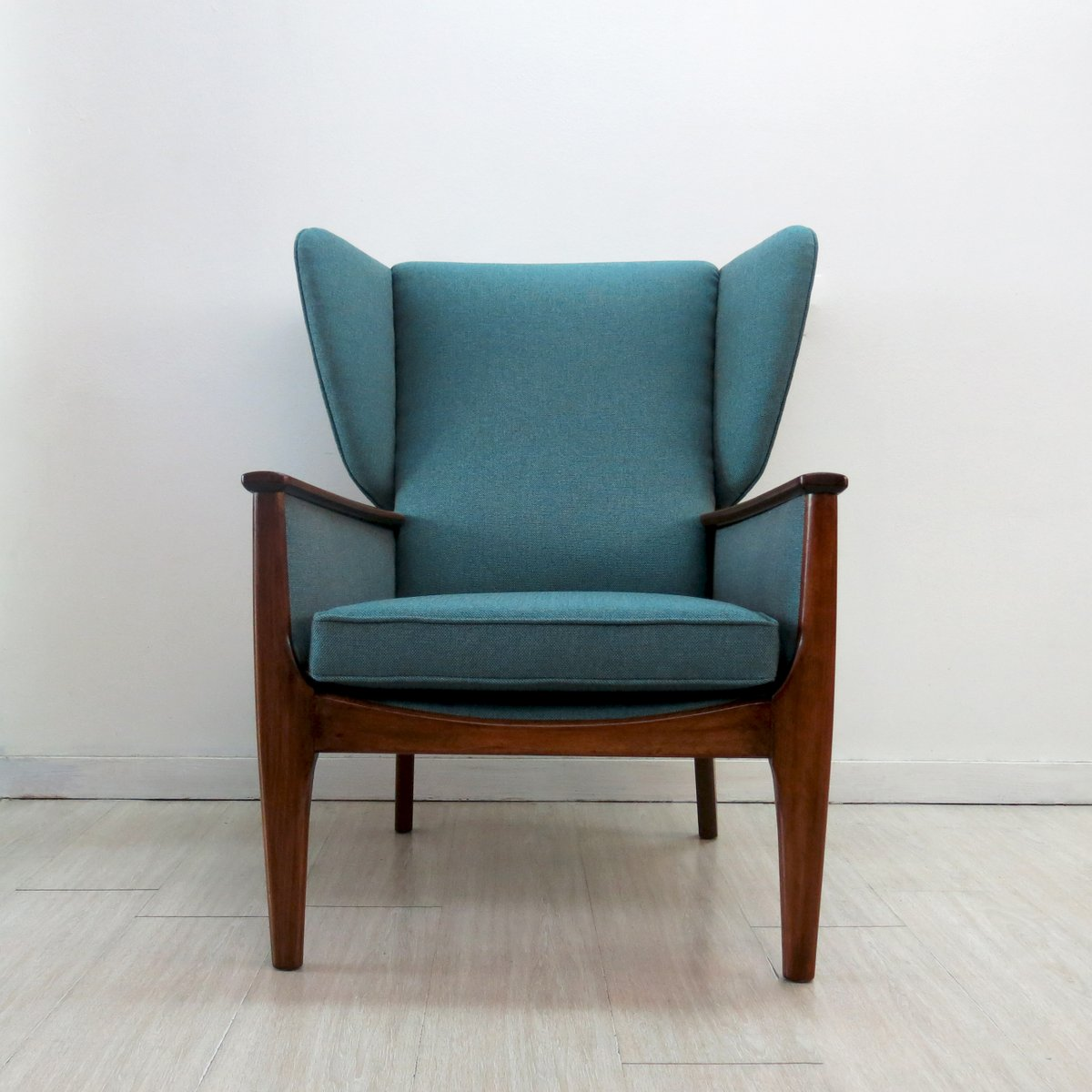 Teal Wingback Chair Wingback Chair From Parker Knoll 1960s
