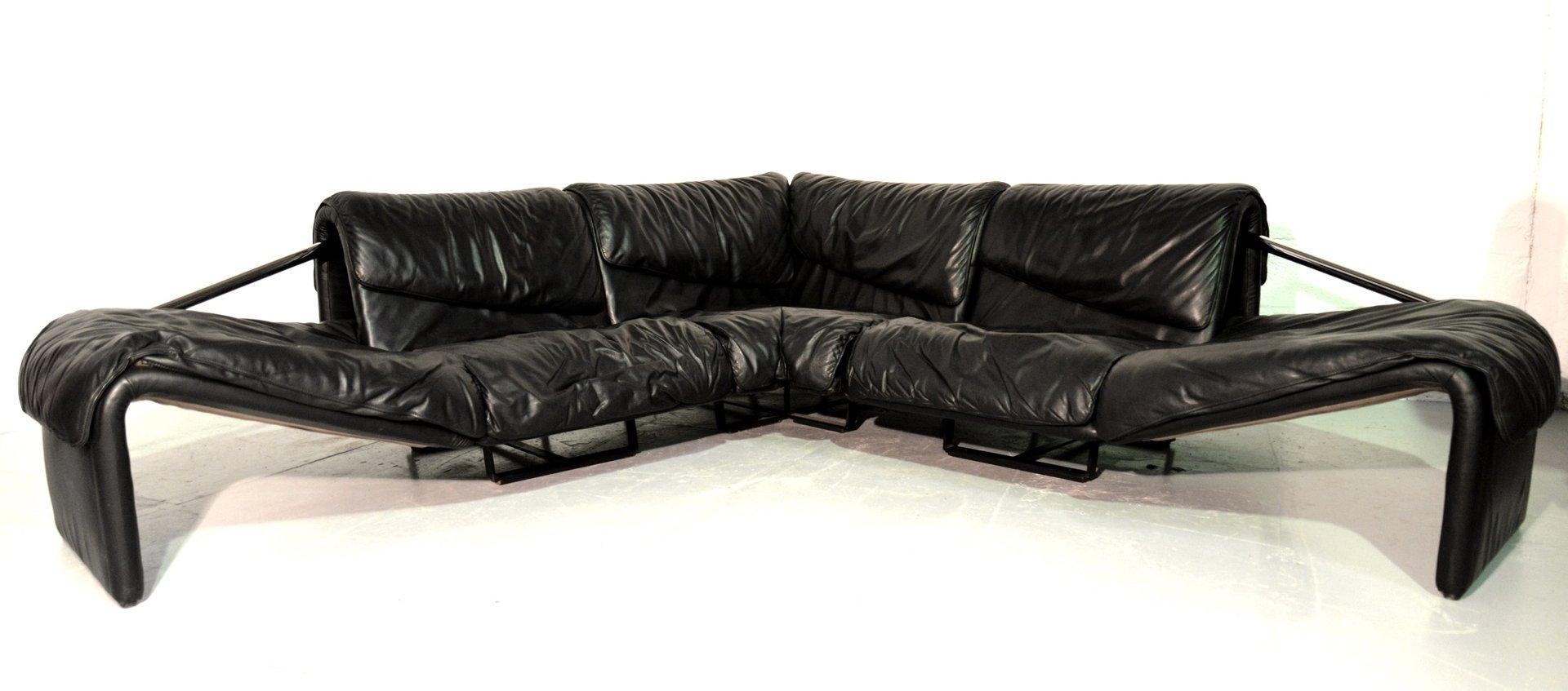 leather corner sofa spain karlstad cover isunda gray inmotion from de sede 1970s for sale