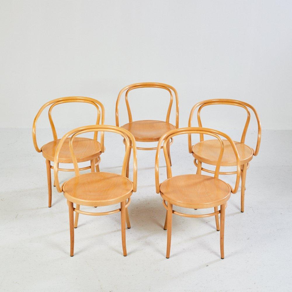 Silla n 209 o Vienna Chair de Thonet aos 20 en venta en