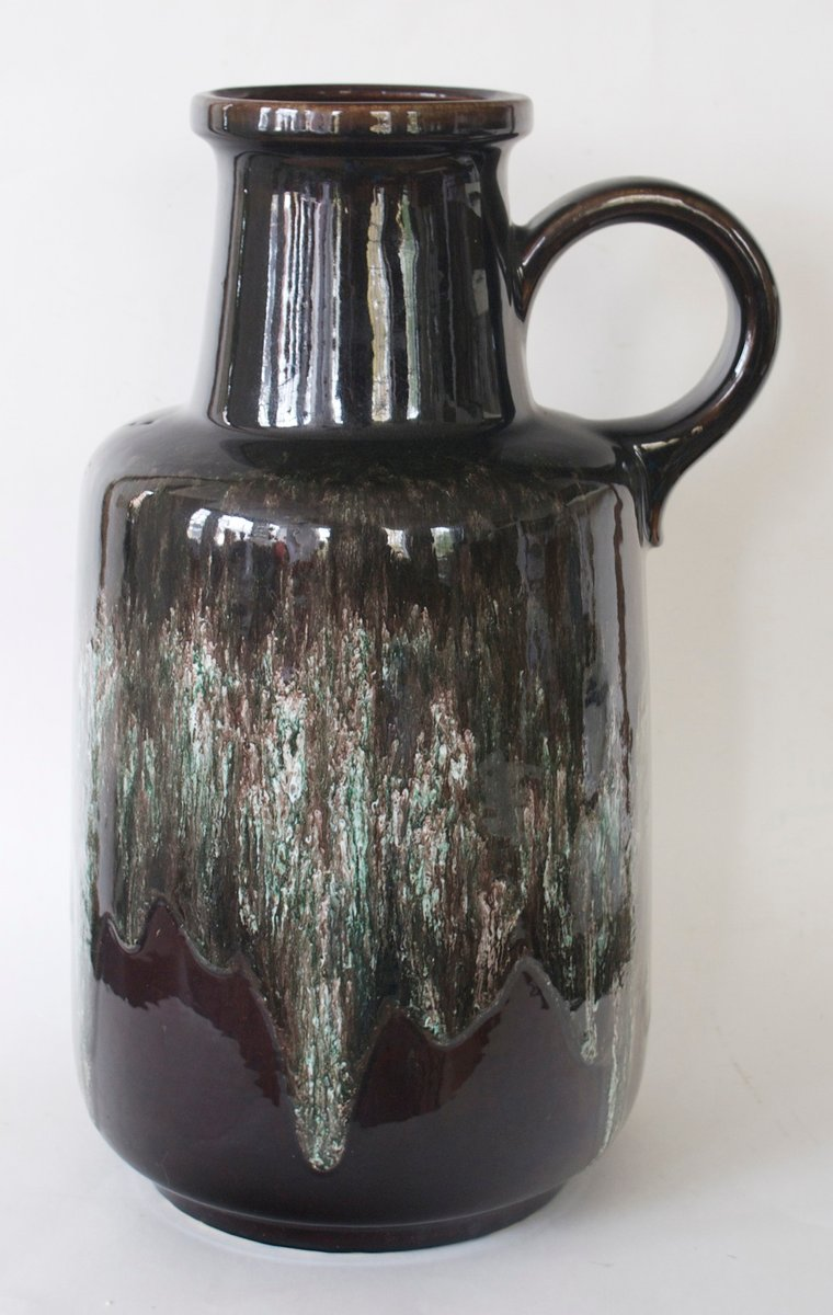 Large Floor Vase from Scheurich 1970s for sale at Pamono