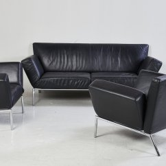Algarve Leather Sofa And Loveseat Set Pottery Barn Charleston Dimensions Black From Cor For Sale At Pamono