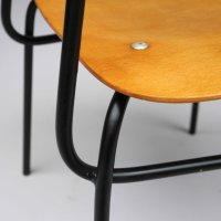 Vintage School Chair, 1960s for sale at Pamono