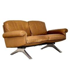 De Sede Sofa Vintage Cinnamon Colored Ds 31 Zwei Sitzer Von Bei Pamono Kaufen