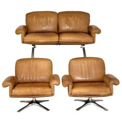 2 Seater Sofa And Armchairs Ikea Leather Sale Swiss Vintage Ds 31 Swivel