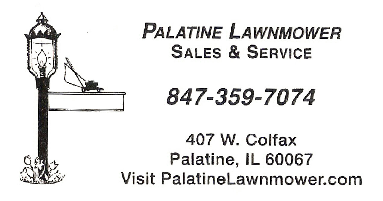 Palatine Lawnmower Sales & Service