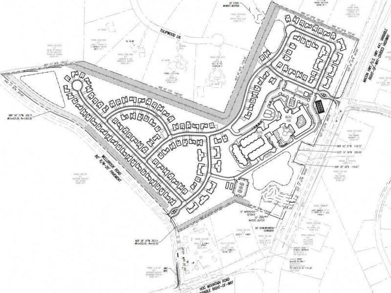Plans for Presbyterian Village North Of Watkinsville On