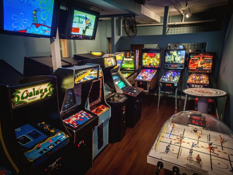 New Arcade Themed Bar Opens In Metuchen Friday