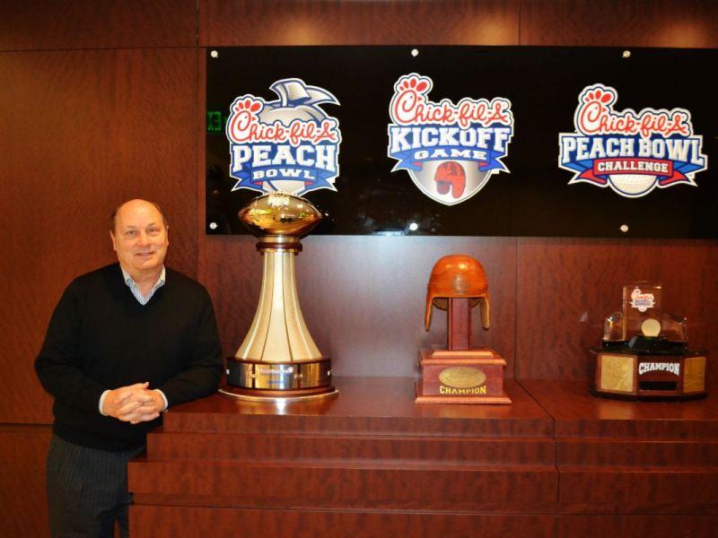 ChickFilA Peach Bowl President  CEO Gary Stokan Takes