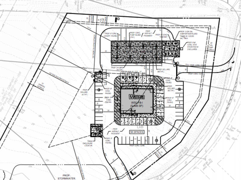 More Details On Proposed Wawa In Newtown Township
