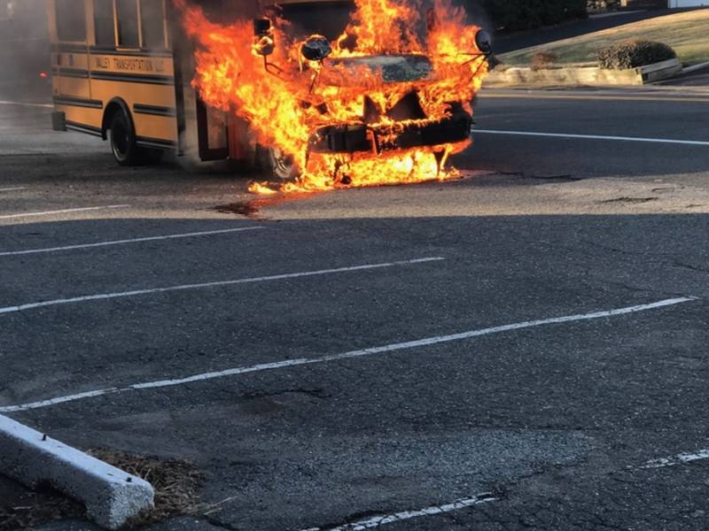 Student Aide Rescued From Burning Bergen School Bus