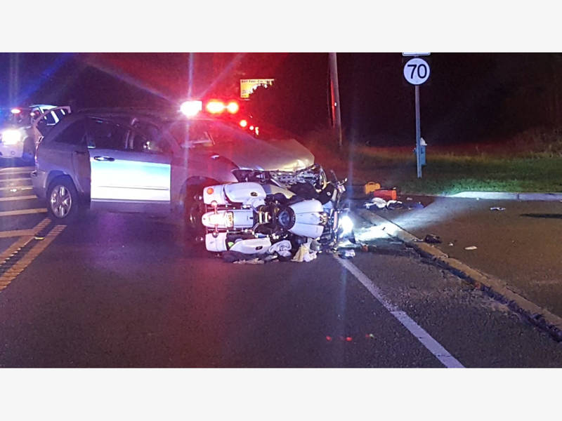 Motorcyclist Killed In Collision With Minivan On Route 70 In Manchester: Police