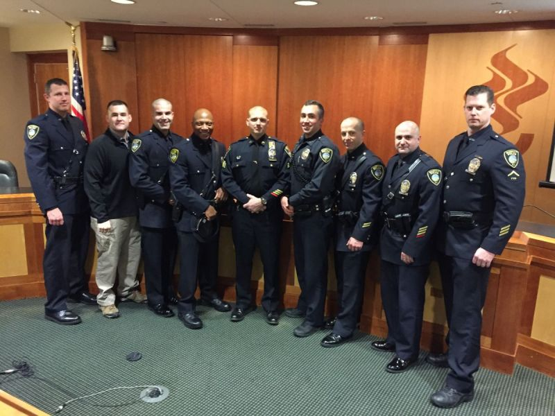 10 Summit Officers Honored For Service  Summit NJ Patch