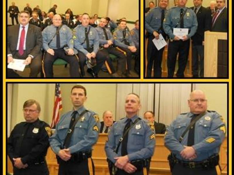 Mountainside Police Officers Honored  Summit NJ Patch