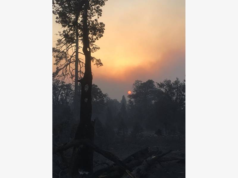 Tinder Fire Scorches Over 11K Acres 0 Percent Contained