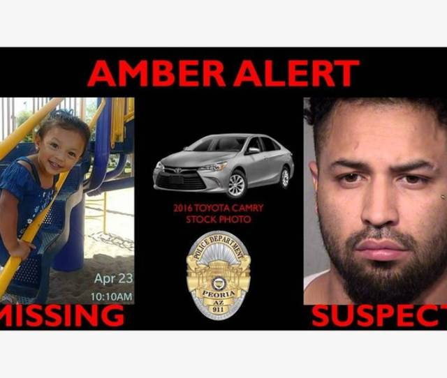 Peoria Amber Alert Canceled With Arrest Of Man Child Is Safe